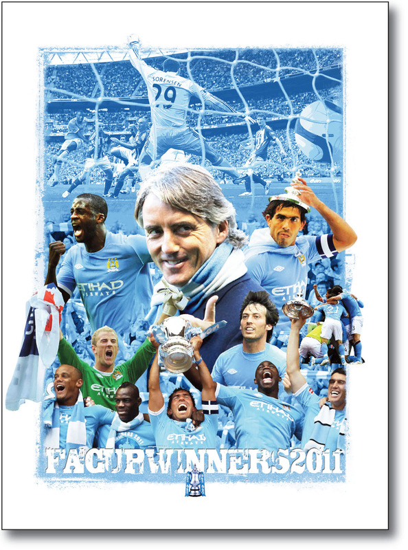 manchester city posters