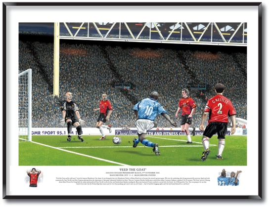 Manchester City Limited Edition print
